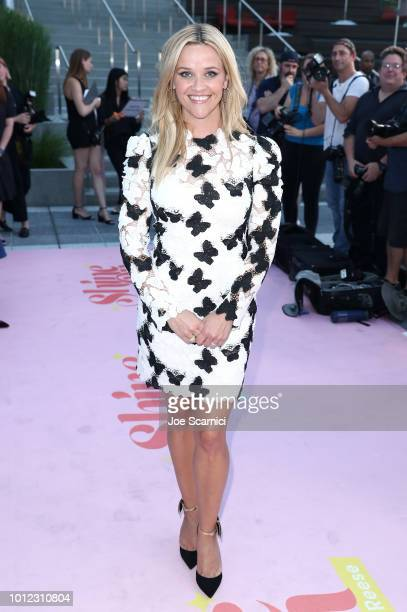 Reese Witherspoon attends the ATT and Hello Sunshine launch celebration of Shine On With Reese and Master The Mess at NeueHouse Hollywood on August 6...