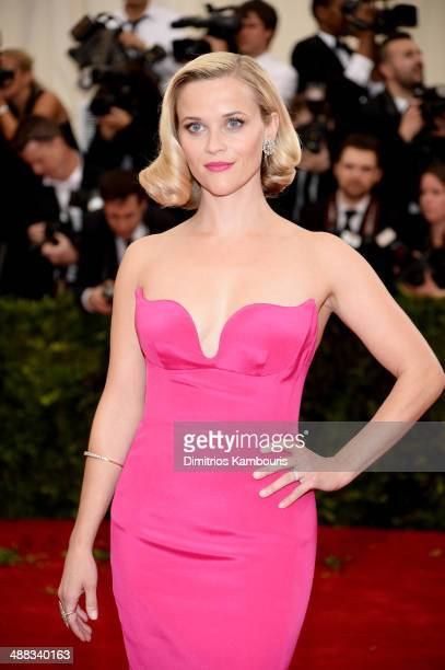 Reese Witherspoon attends the 'Charles James Beyond Fashion' Costume Institute Gala at the Metropolitan Museum of Art on May 5 2014 in New York City