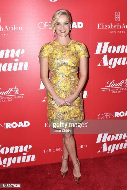 Reese Witherspoon attends The Cinema Society with Elizabeth Arden Lindt Chocolate host a screening of Open Road Films' Home Again at The Paley Center...