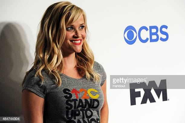 CANCER Reese Witherspoon attends The Hollywood community unites once again to support Stand Up To Cancer a program of the Entertainment Industry...