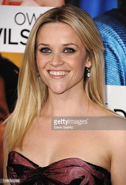 Reese Witherspoon attends the How Do You Know Los Angeles Premiere at Regency Village Theatre on December 13 2010 in Westwood California