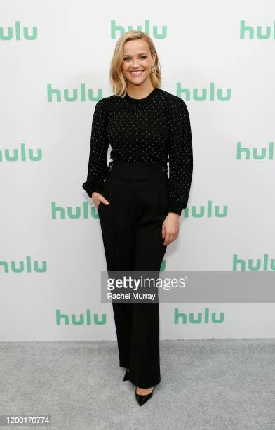Reese Witherspoon attends the Hulu Panel at Winter TCA 2020 at The Langham Huntington, Pasadena on January 17, 2020 in Pasadena, California.
