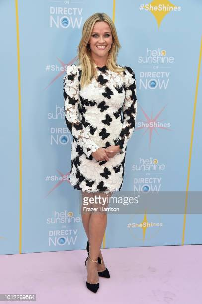 "Reese Witherspoon attends The Launch Of ""Shine On With Reese"" at NeueHouse Hollywood on August 6, 2018 in Los Angeles, California."