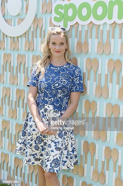 Reese Witherspoon attends the launch of Yummy Spoonfuls at Target on June 8 2016 in Beverly Hills California