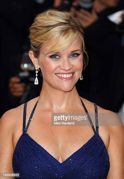 Reese Witherspoon attends the 'Mud' premiere during the 65th Annual Cannes Film Festival at Palais des Festivals on May 26 2012 in Cannes France
