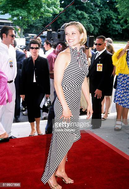 Reese Witherspoon attends the premiere of 'Legally Blonde Southampton New York July 7 2001