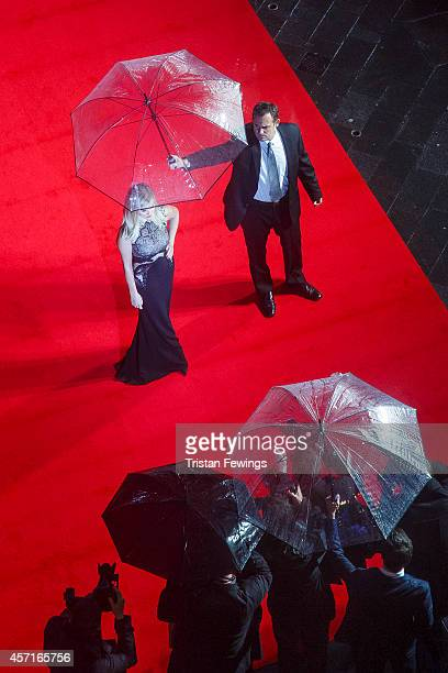 Reese Witherspoon attends the premiere of Wild as part of The 58th London Film Festival shot from the Radisson Blu Edwardian Hampshire Hotel on...