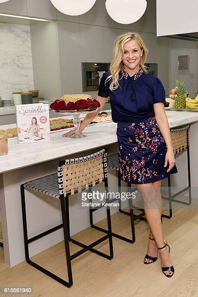 Reese Witherspoon attends The Sprinkles Baking Book by Candace Nelson PreRelease Party on October 18 2016 in Beverly Hills California