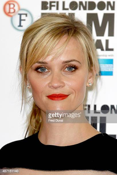Reese Witherspoon attends the Wild photocall at The Mayfair Hotel on October 13 2014 in London England