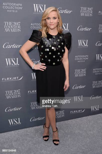 Reese Witherspoon attends the WSJ Magazine 2017 Innovator Awards at MOMA on November 1 2017 in New York City