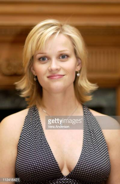 "Reese Witherspoon during ""Legally Blonde 2: Red, White & Blonde"" Press Conference with Reese Witherspoon, Bob Newhart, Jennifer Coolidge and Regina..."