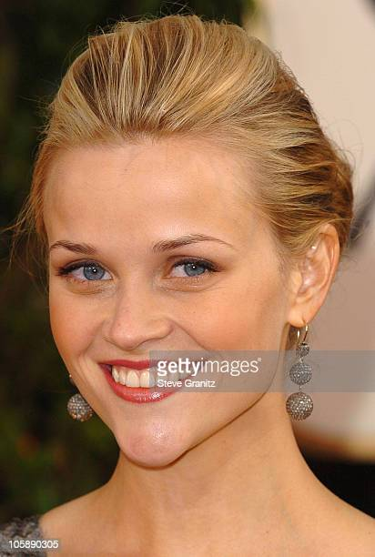Reese Witherspoon during The 63rd Annual Golden Globe Awards Arrivals at Beverly Hilton Hotel in Beverly Hills California United States