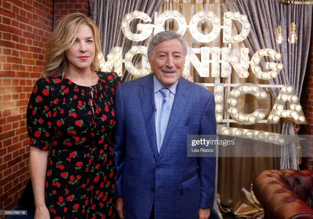 GMA - Reese Witherspoon is a guest and Tony Bennett performs