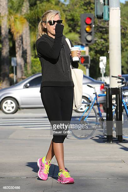 Reese Witherspoon is seen in Santa Monica on January 23 2015 in Los Angeles California