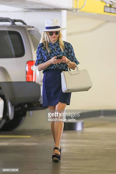 Reese Witherspoon is seen on August 15 2016 in Los Angeles California