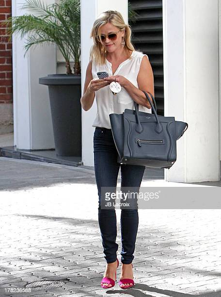 Reese Witherspoon is seen on August 27 2013 in Los Angeles California