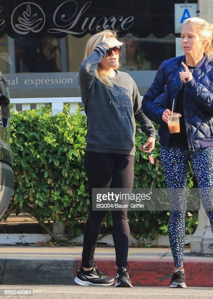 Reese Witherspoon is seen on December 05 2017 in Los Angeles California