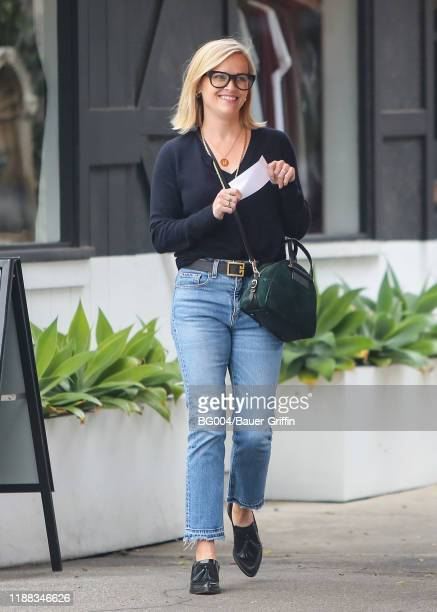 Reese Witherspoon is seen on December 13, 2019 in Los Angeles, California.
