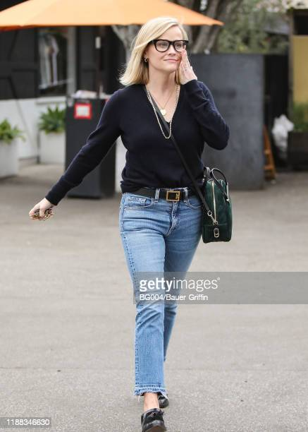 Reese Witherspoon is seen on December 13 2019 in Los Angeles California