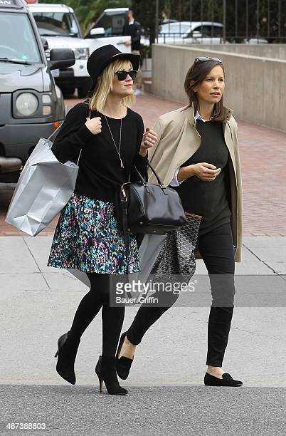 Reese Witherspoon is seen on February 06 2014 in Los Angeles California