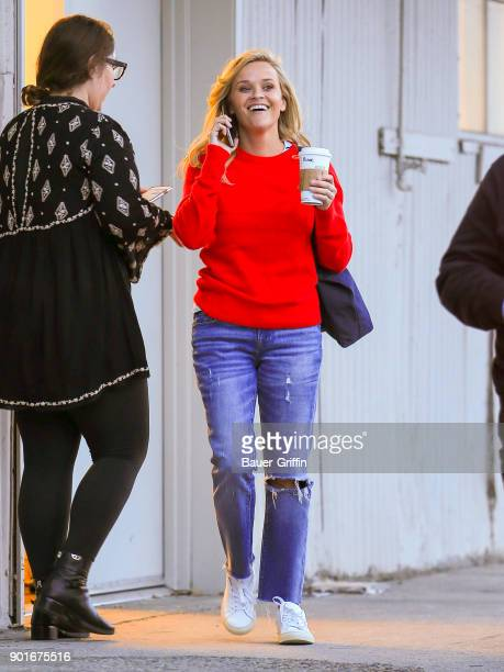 Reese Witherspoon is seen on January 05 2018 in Los Angeles California