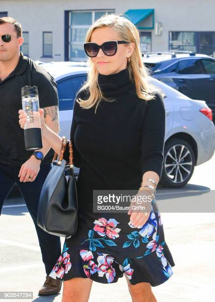 Reese Witherspoon is seen on January 10 2018 in Los Angeles California