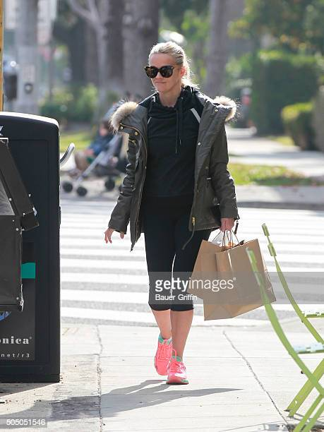 Reese Witherspoon is seen on January 14 2016 in Los Angeles California