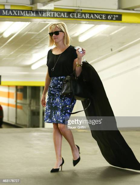 Reese Witherspoon is seen on January 16 2014 in Los Angeles California