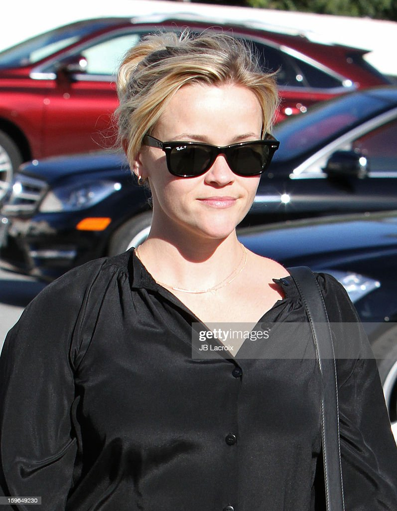 Reese Witherspoon is seen on January 17, 2013 in Los Angeles, California.