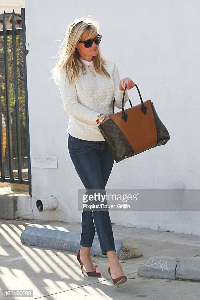 Reese Witherspoon is seen on January 7 2015 in Los Angeles California
