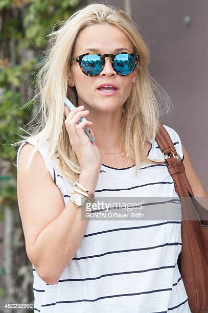 Reese Witherspoon is seen on July 29 2015 in Los Angeles California