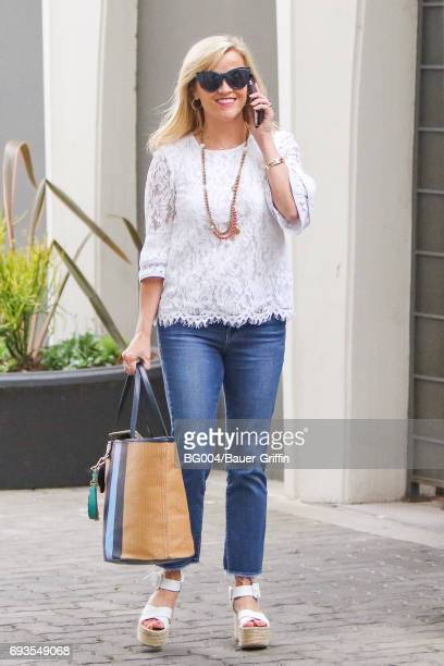 Reese Witherspoon is seen on June 07 2017 in Los Angeles California