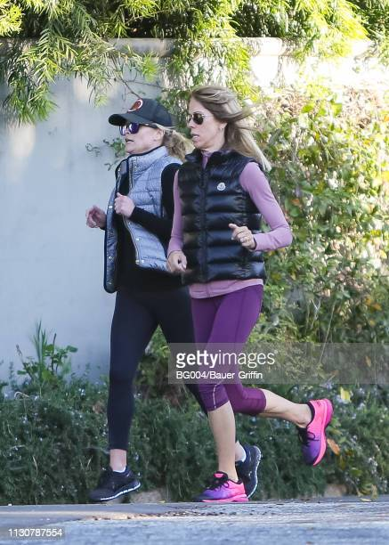 Reese Witherspoon is seen on March 15 2019 in Los Angeles California
