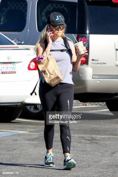 Reese Witherspoon is seen on March 23 2017 in Los Angeles California