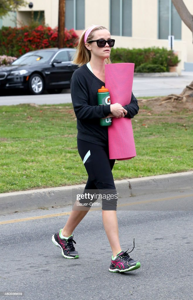 Reese Witherspoon is seen on March 25, 2014 in Los Angeles, California.