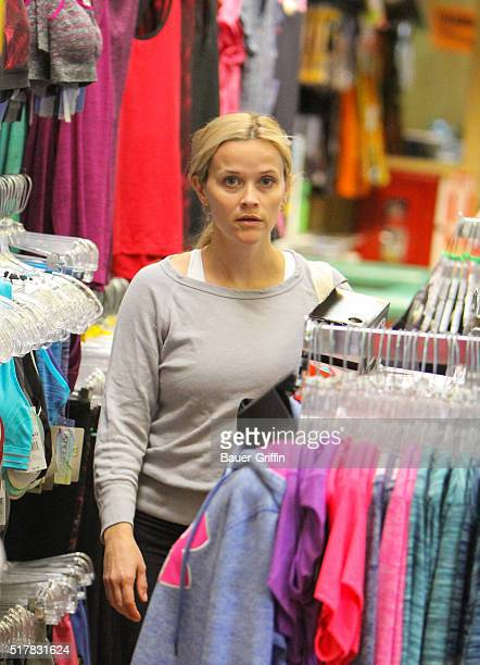 Reese Witherspoon is seen on March 26 2016 in Los Angeles California