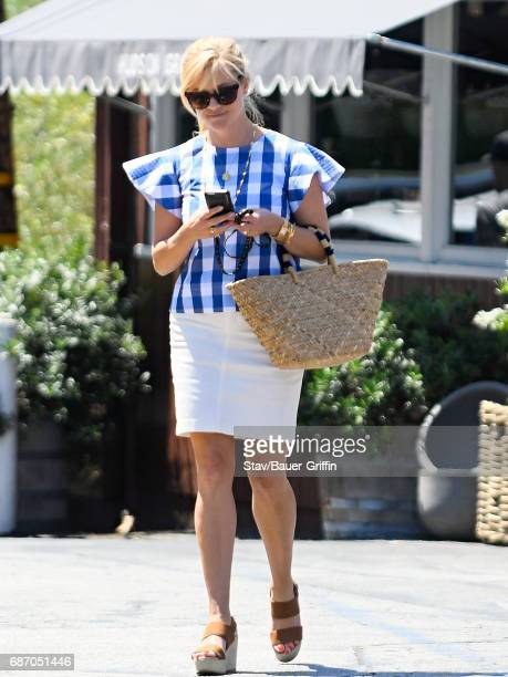 Reese Witherspoon is seen on May 22 2017 in Los Angeles California