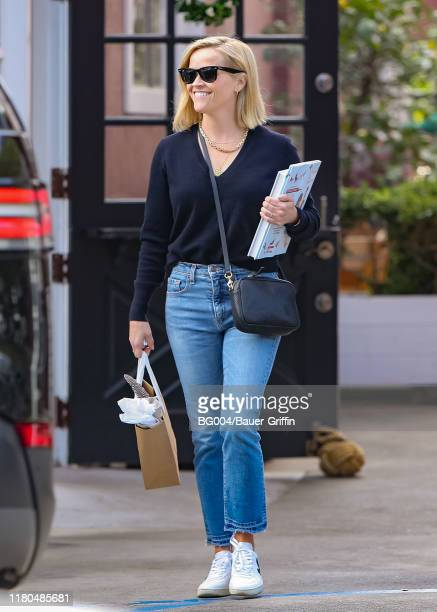 Reese Witherspoon is seen on November 06, 2019 in Los Angeles, California.