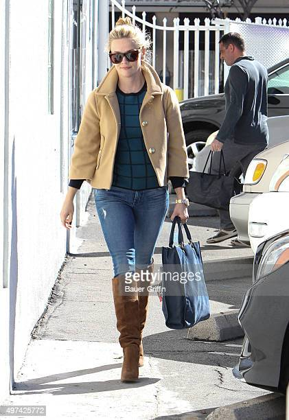 Reese Witherspoon is seen on November 16 2015 in Los Angeles California