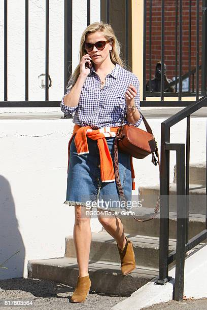 Reese Witherspoon is seen on October 24 2016 in Los Angeles California