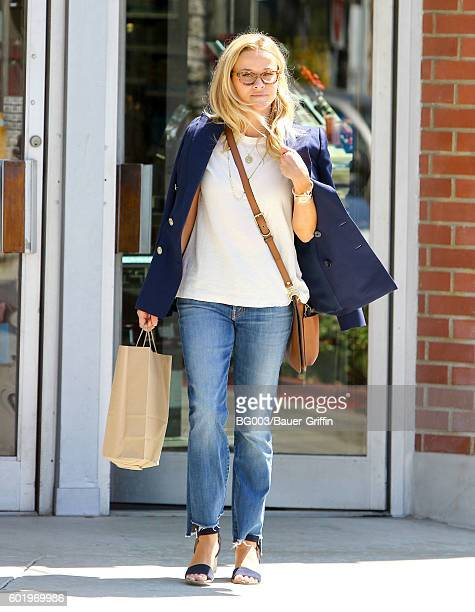 Reese Witherspoon is seen on September 10 2016 in Los Angeles California