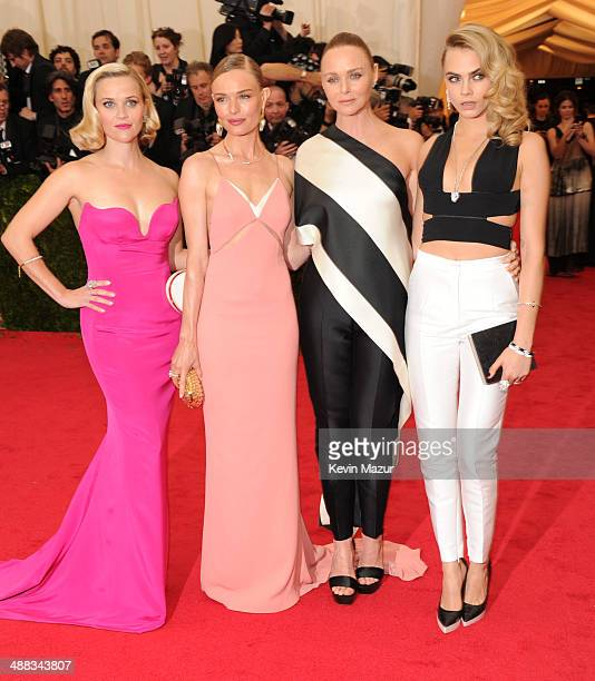 """Reese Witherspoon, Kate Bosworth, Stella McCartney and Cara Delevingne attend the """"Charles James: Beyond Fashion"""" Costume Institute Gala at the..."""