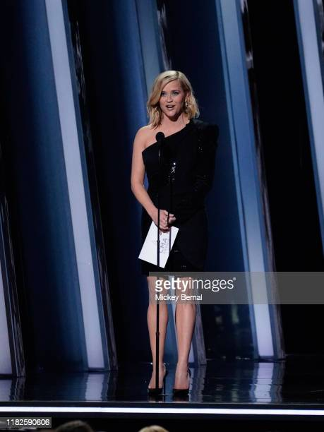 Reese Witherspoon performs onstage at the 53rd annual CMA Awards at the Bridgestone Arena on November 13 2019 in Nashville Tennessee