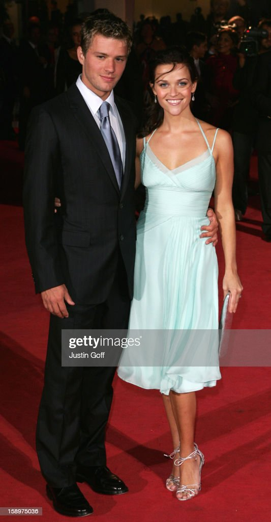 Reese Witherspoon & James Purefoy Promote Vanity Fair At The Venice ...