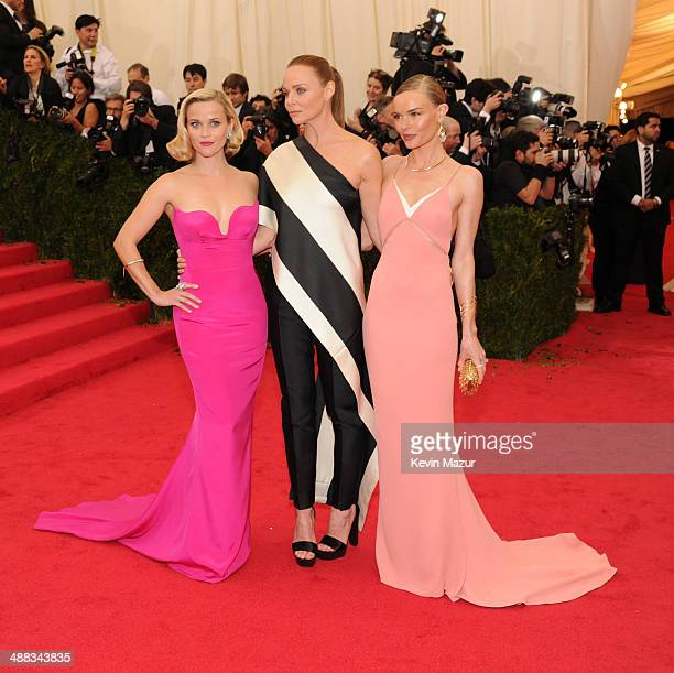 Reese Witherspoon Stella McCartney and Kate Bosworth attend the 'Charles James Beyond Fashion' Costume Institute Gala at the Metropolitan Museum of...
