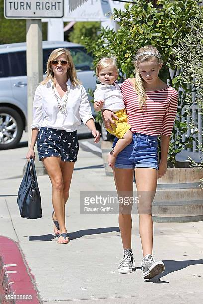 Reese Witherspoon Tennessee James Toth and Ava Elizabeth Phillippe sighting on September 09 2013 in Los Angeles California