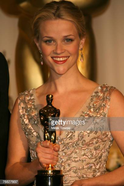 Reese Witherspoon Winner Best Actress In A Leading Role For Walk The Line At