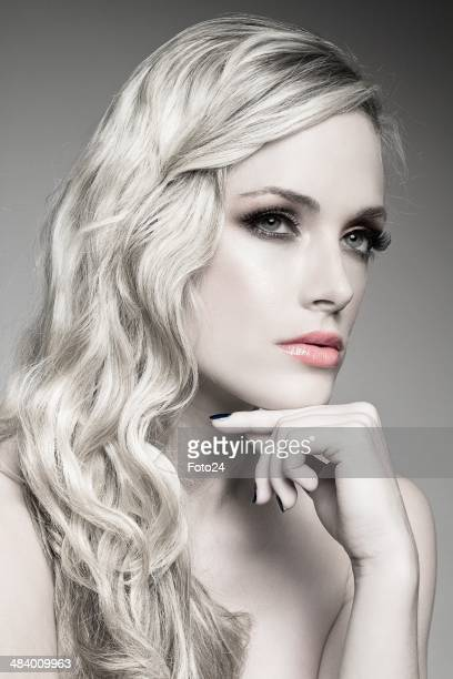 Reeva Steenkamp poses for a model shoot on April 17 2011 in Pretoria South Africa