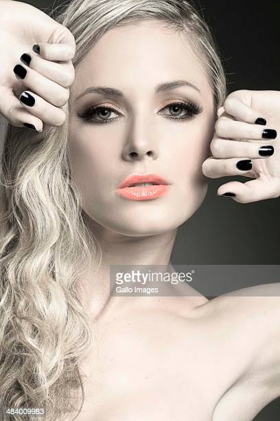 Reeva Steenkamp poses for a model shoot on April 17 2011 in Pretoria, South Africa.