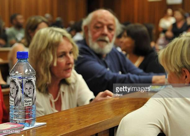 Reeva Steenkamp's parents Barry and June Steenkamp in the Pretoria High Court on October 15 in Pretoria, South Africa. Judge Thokozile Masipa found...